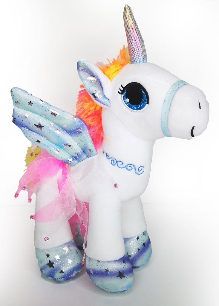 Miss Unicorn Ballerina Plush