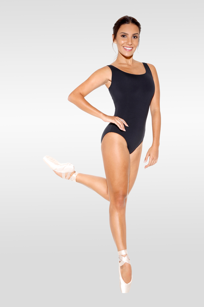 Microfibre Tank Leotard - Adult