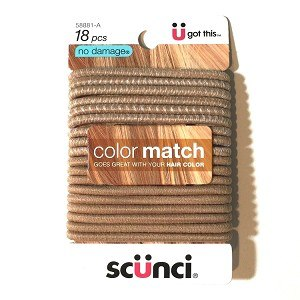 Accessories - Colour Match Ponytail Holders - Pack Of 18