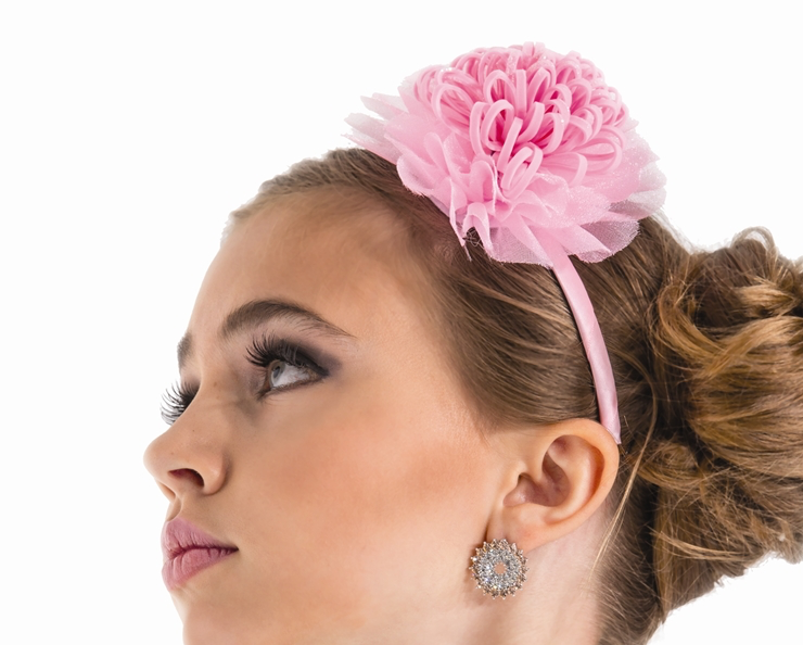 Light Pink Flower Headband