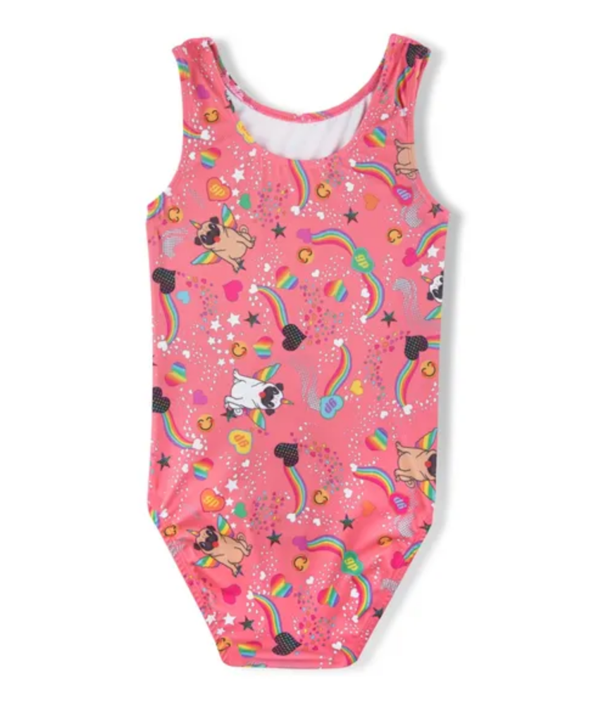 Pugicorn Gymnastics Leotard - Child