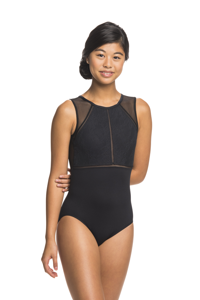 Coco Leotard with Kara Lace - Adult