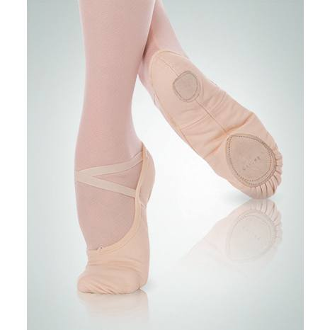 Ballet Shoes - Canvas Splitsole Ballet Slipper - Child