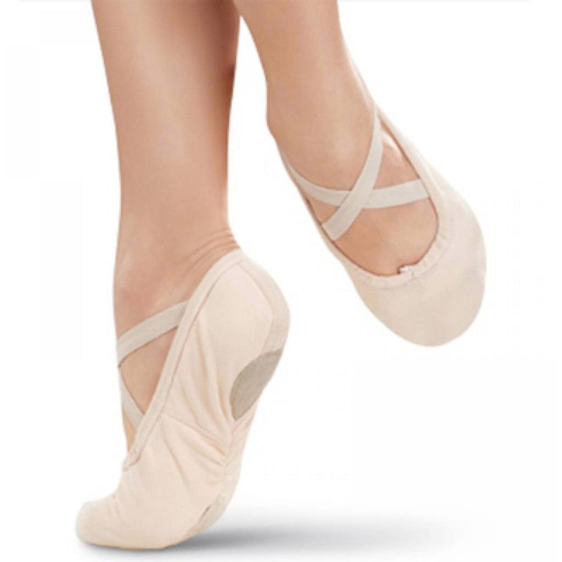 Ballet Shoes - Pro #1 Canvas Splitsole Ballet Slipper