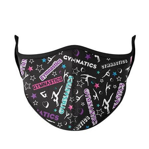 Gymnastics Fashion Face Cover - Child 8-Adult Small