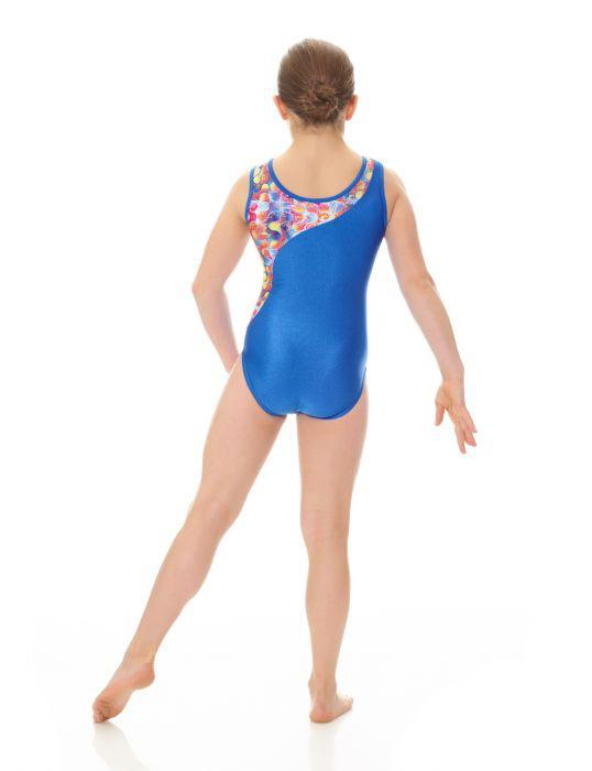 Printed Tank Gymnastics Leotard - Child