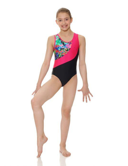 Triple Strap Gymnastics Leotard - Child