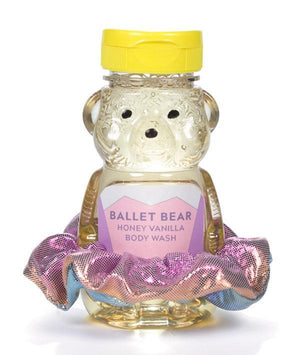 Ballet Bear Body Wash - Mermaid Multi Scrunchie