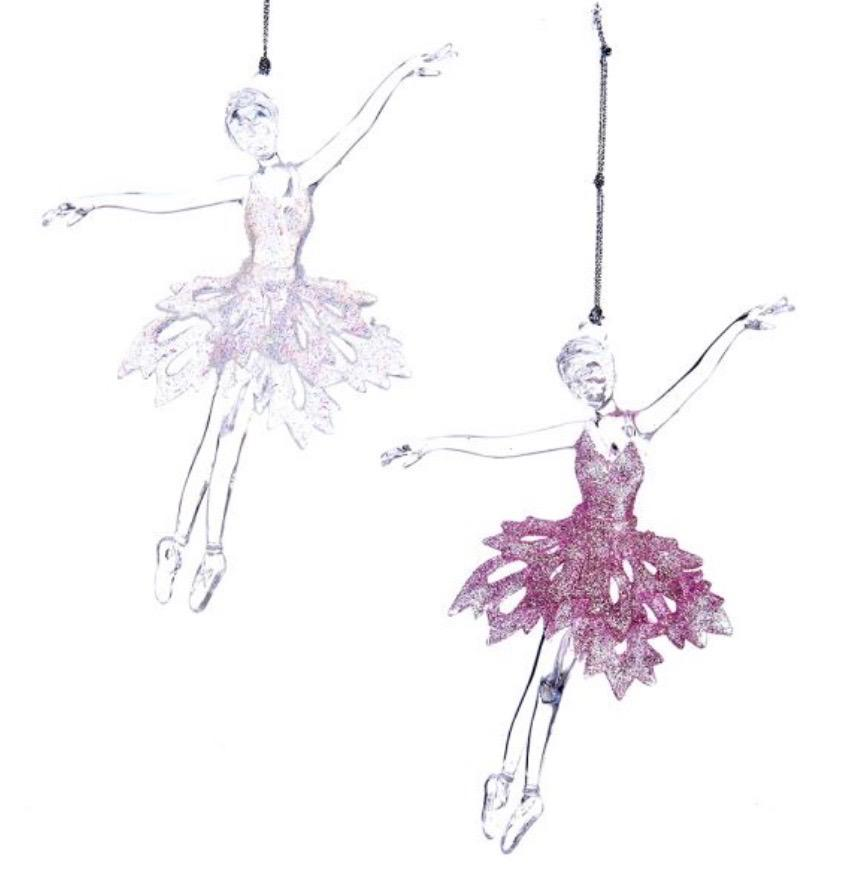 Ballet Girl Acrylic Ornament