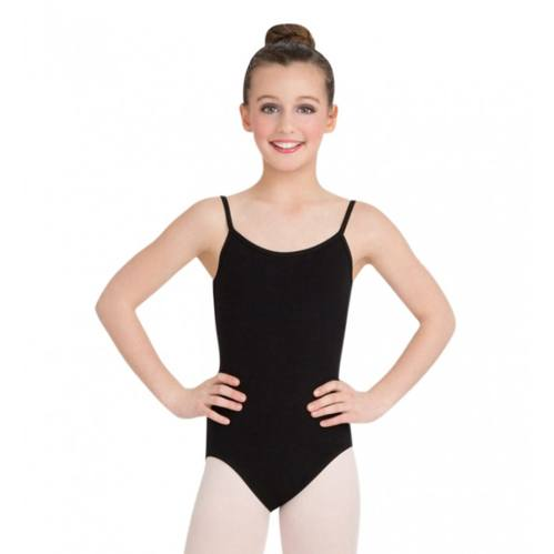Bodysuits - Cami Leotard W/ Adjustable Strap - Child