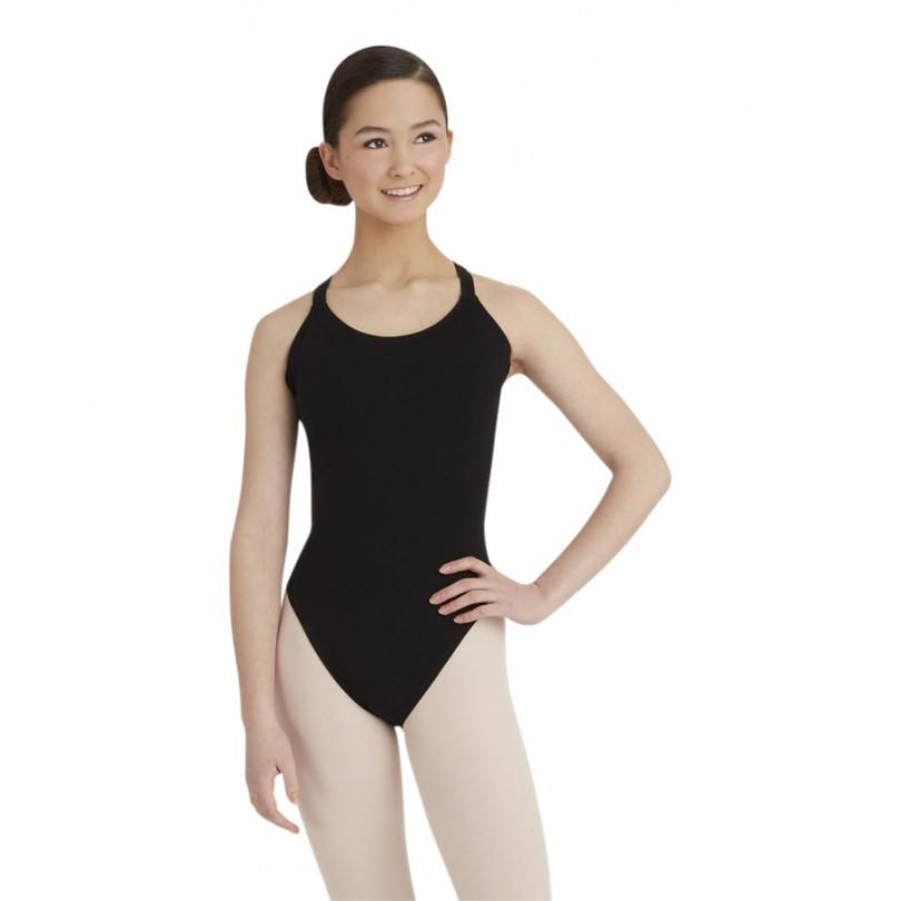 Bodysuits - Double Strap Camisole Leotard - Adult