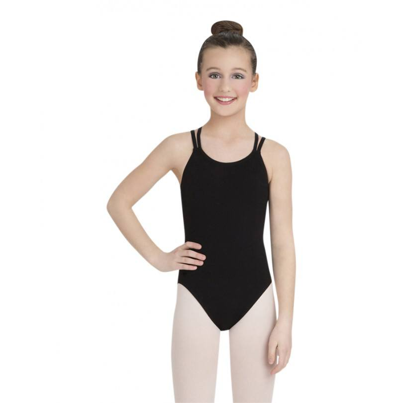 Bodysuits - Double Strap Camisole Leotard - Child