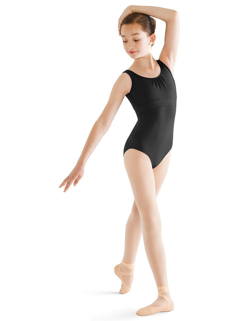 Bodysuits - Embroidered Empire Waist Leotard - Child