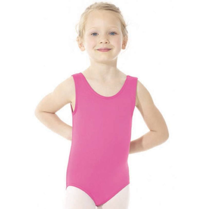 Bodysuits - Nylon Tank Leotard - Adult