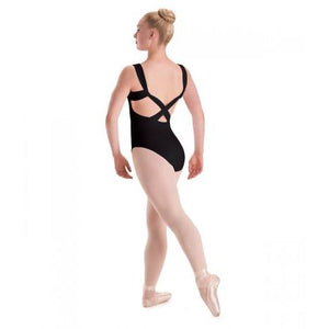 Bodysuits - Pinch Front Cross Back Leotard - Adult