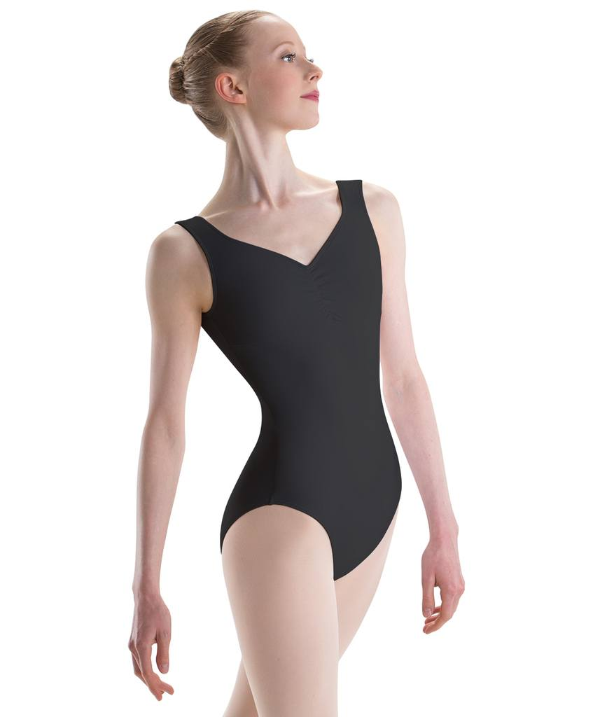 Bodysuits - Pinch Front Low Back Leotard - Child & Adult