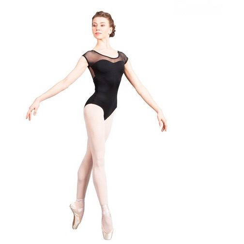 Bodysuits - Revelation Spot Mesh Leotard - Adult