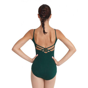 Bodysuits - V-Neck Cami Leotard - Adult