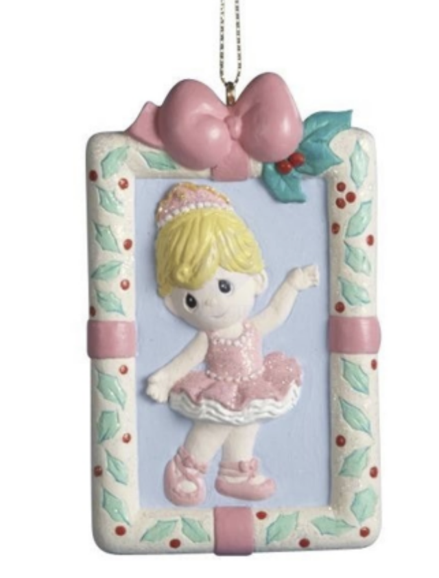 Precious Moments Ballerina Ornament
