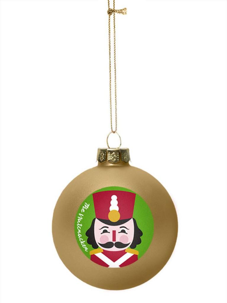 Nutcracker and Mouse Ornament