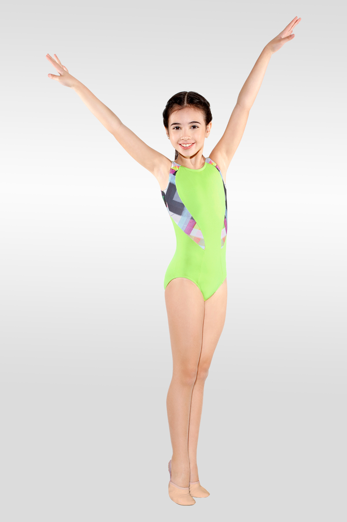 Diana Printed Gym Leotard - Child