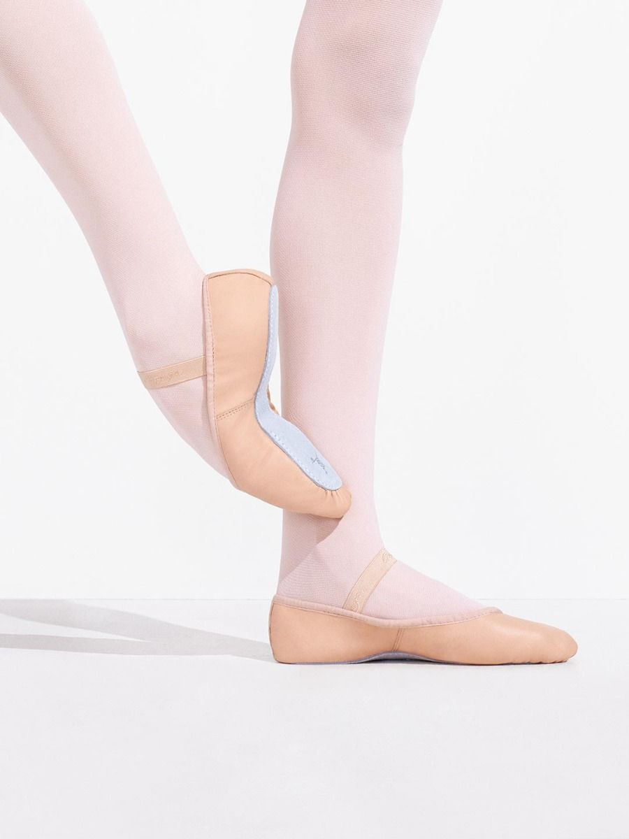 Daisy Leather Ballet Slipper - Child