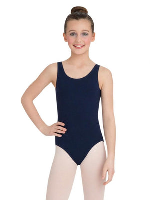 Tank Leotard with Ballet Legline - Child