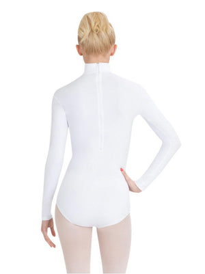 Turtleneck Long Sleeve Leotard - Adult