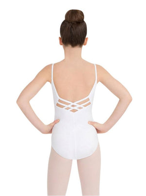V-Neck Cami Leotard - Child