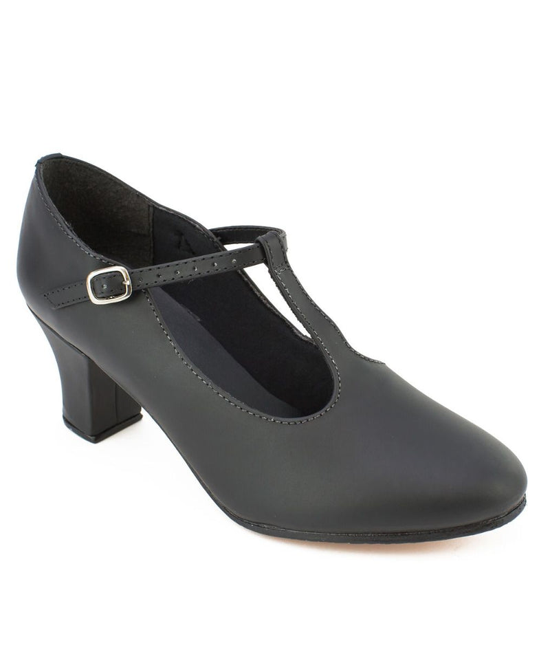 "Lyrical And Character Shoes - T-Strap Character Shoe 2"" Heel"