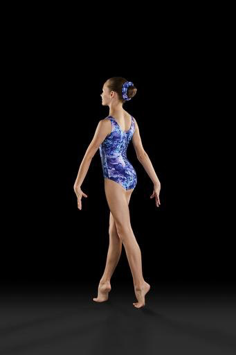 Dreamy Blooms Gymnastic Tank Leotard - Adult