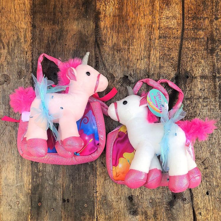 Unicorn Ballerina Plush with Tote