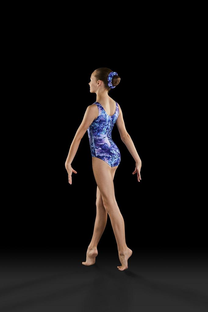 Dreamy Blooms Gymnastic Tank Leotard - Child