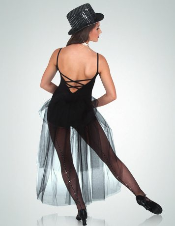 Dress - Bustle Back Boy-Cut Leotard