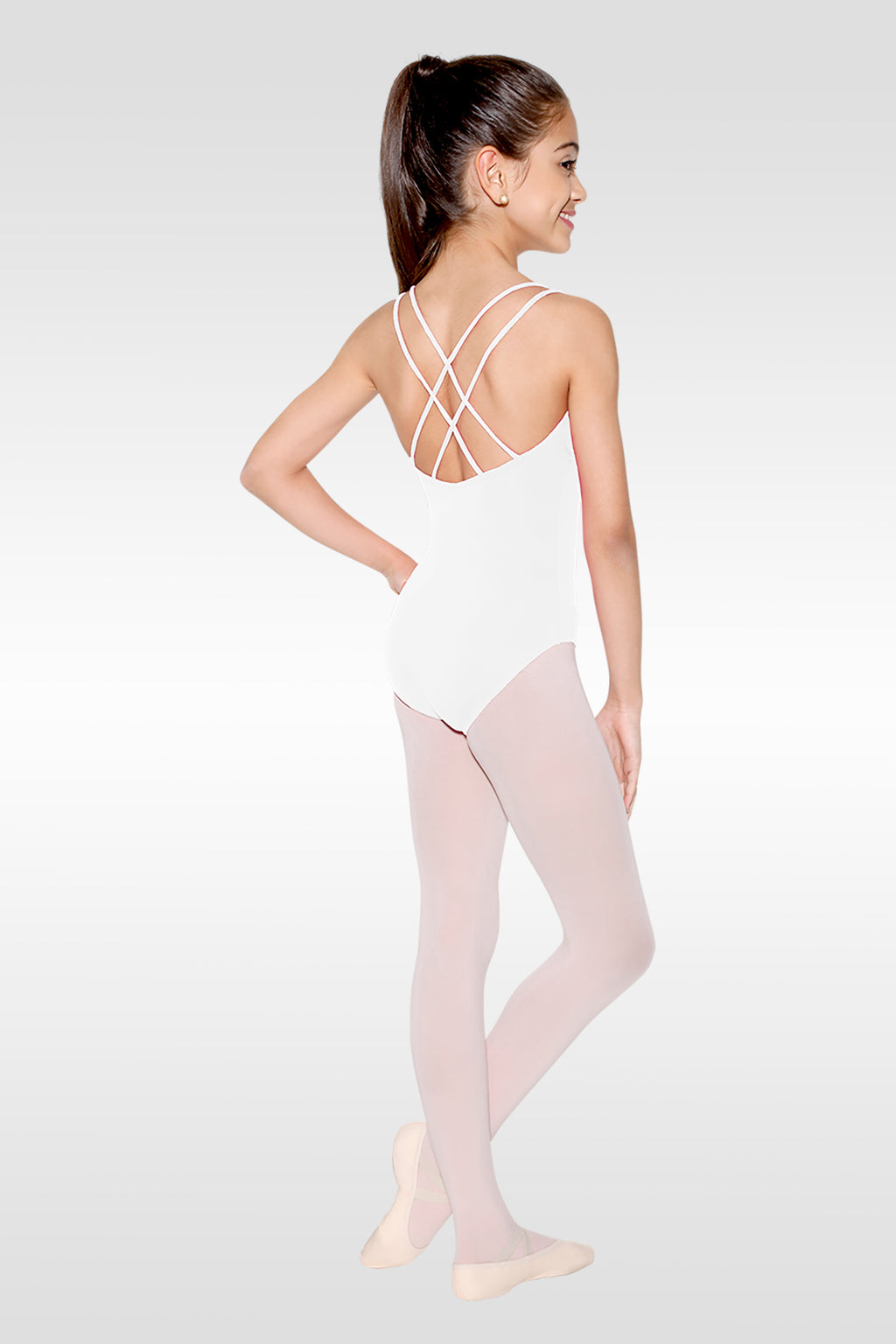 Double Strap Cross Back Leotard - Child