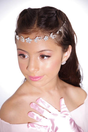 Flexible Headband with Rhinestones