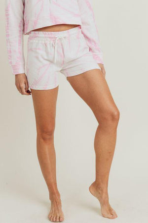 Terry Tie Dye Lounge Shorts - Adult