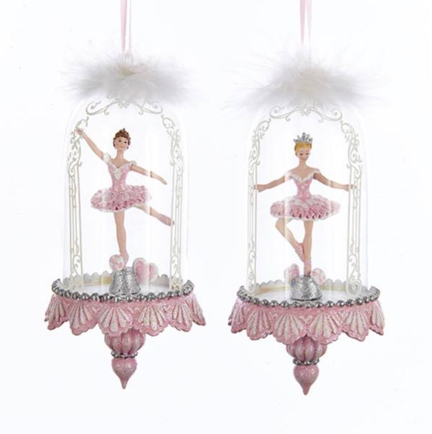 Gifts - Ballerina Ornament In Dome