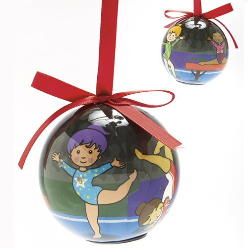 Gifts - Blinking Gymnastics Ornament