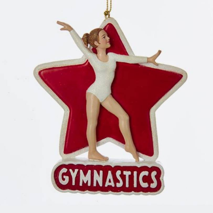 Gifts - Gymnast Ornament
