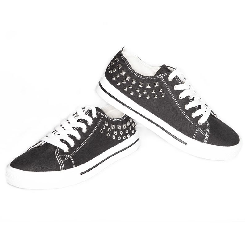 Hip Hop Sneakers - Studded Low Top - Adult