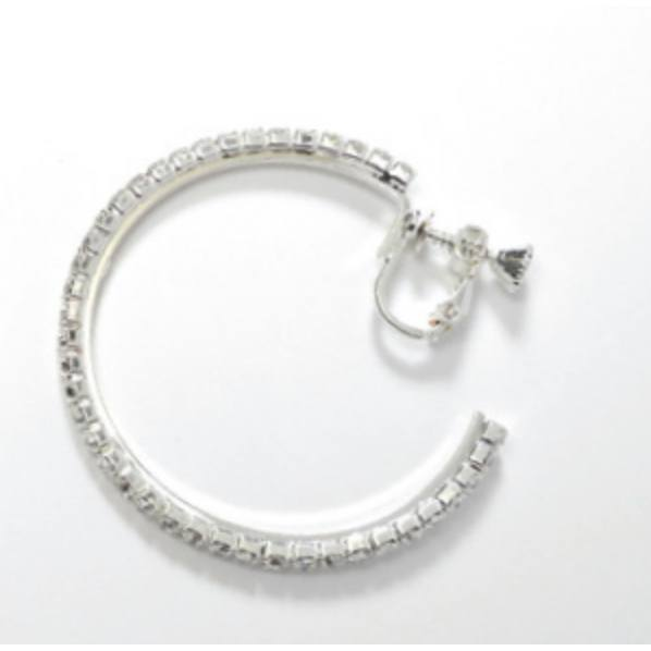 Jewelry - 40MM Hoop Earrings - Clip-On