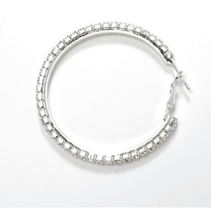 Jewelry - 40MM Hoop Earrings - Pierced