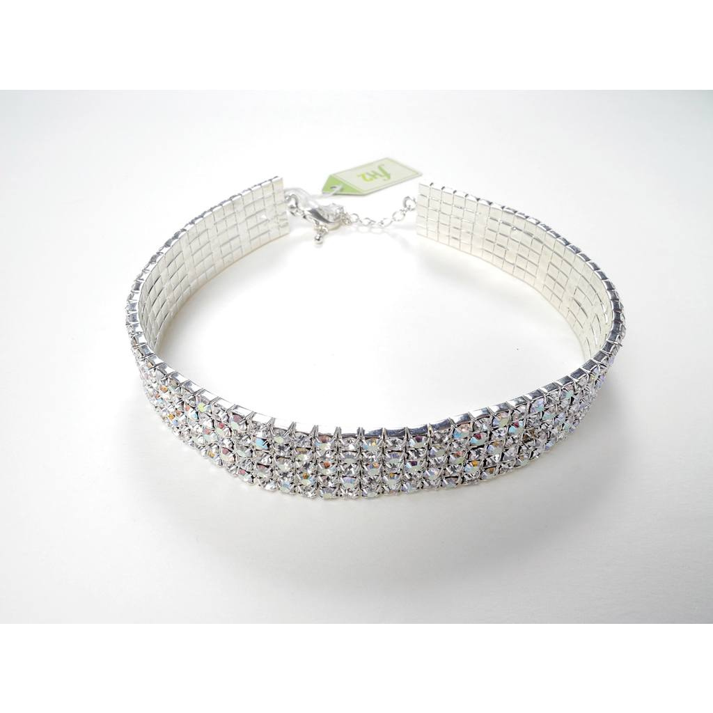 Jewelry - 5 Row Choker - AB - Adult