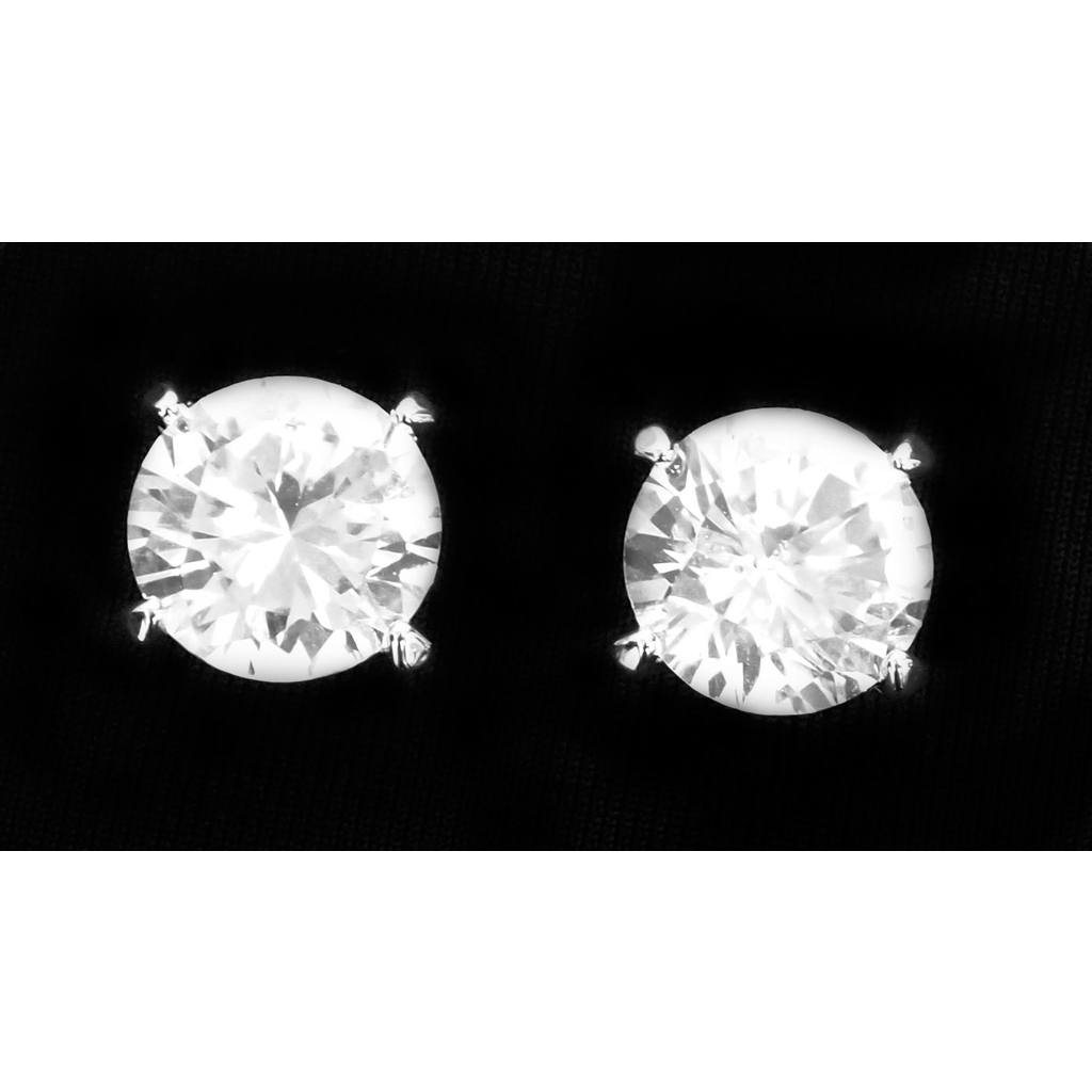 Jewelry - Clip-On Single Stone Earring - 9MM