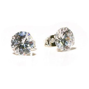Performance Accessories - 10MM Clear Clip On Stud Earrings