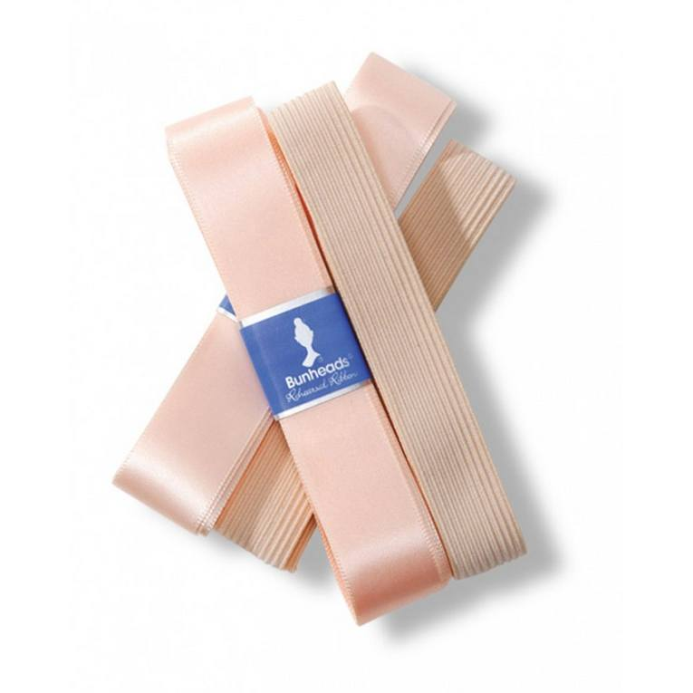 Pointe Shoe Accessories - Rehearsal Ribbon & Elastic Pack