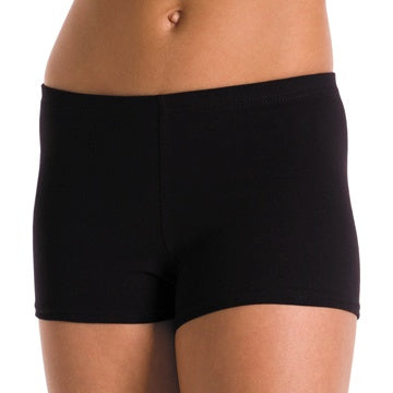 Shorts - Cotton Basic Dance Short - Girls
