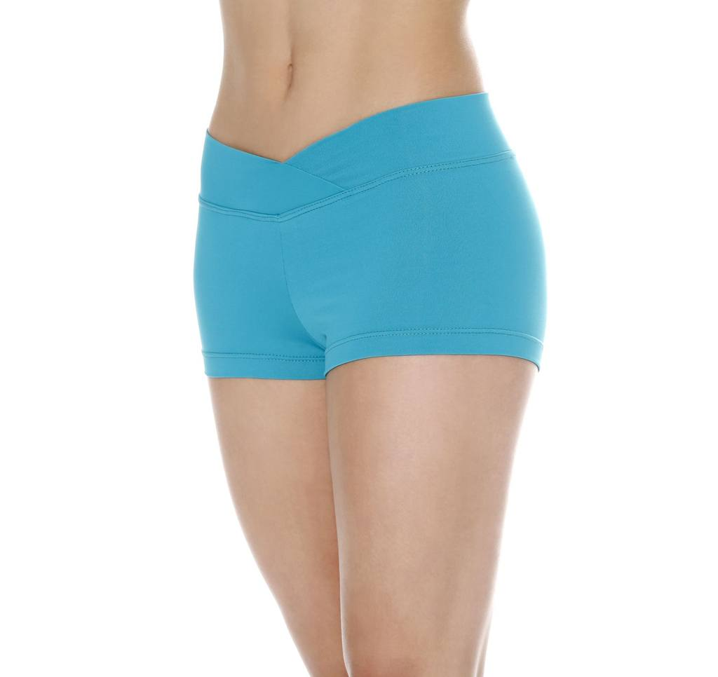 Shorts - Shorts With V-Front Waistline - Adult