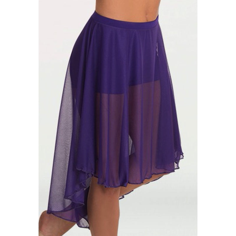 Skirts - Mid Length High Low Skirt - Adult